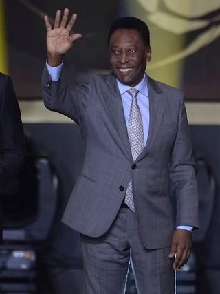 Pele no evento FIFA Ballon dOr (Foto: Agência AFP)