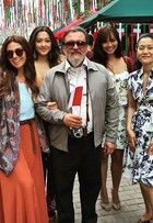 Giovanna Antonelli grava novela 'Sol Nascente' com Carol Nakamura