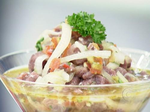 Ceviche de Carne Seca