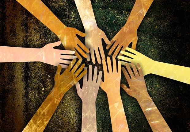 diversidade, união, trabalho em equipe (Foto: Thinkstock)