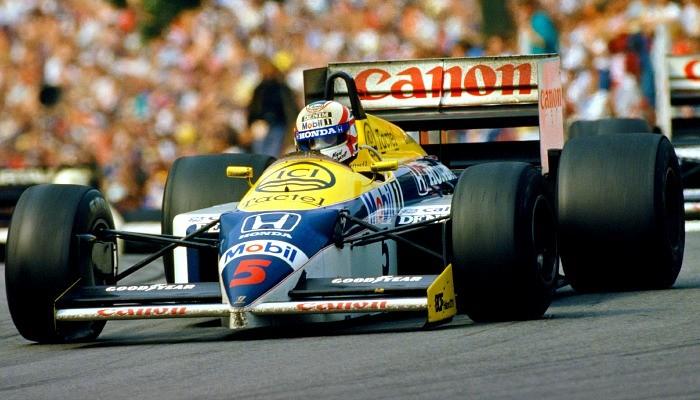 Williams FW11 1986 Nigel Mansell