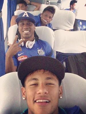 Neymar Arouca André Santos Instagram (Foto: Reprodução / Instagram)
