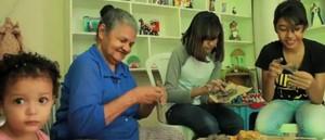 Mestre do artesanato cria peças de argila há três gerações em Juazeiro do Norte (TV Verdes Mares/Reprodução)
