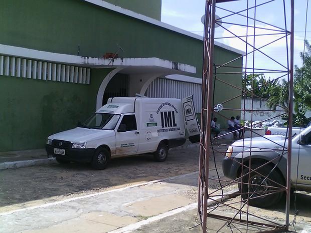 Detento foi morto com várias perfurações dentro da Casa de Custódia de Teresina  (Foto: Sinpoljuspi/Divulgação)