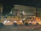 Quadrilha ataca empresa de valores e mata policial rodoviário em Ribeirão