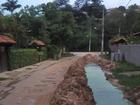 Buraco aberto pela prefeitura de Miguel Pereira preocupa moradores