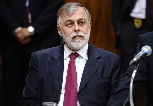 O ex-diretor de Abastecimento da Petrobras, Paulo Roberto Costa, é ouvido na CPI da Câmara (Foto: Jefferson Rudy/Agência Senado)