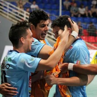 São José Futsal x Guarapuava (Foto: Divulgação / Quarttus Marketing)