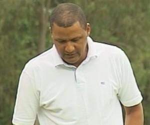 Antonio Carlos da Silva, conhecido como Buião, técnico do Vocem (Foto: Reprodução/ TV TEM)