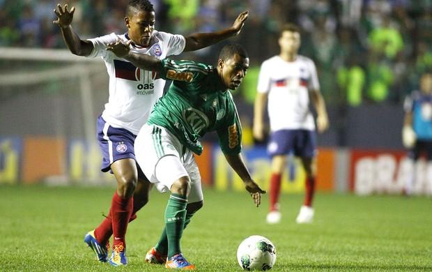 Gil e Mazinho, Palmeiras x Bahia (Foto: Marcos Bezerra / Agência Estado)