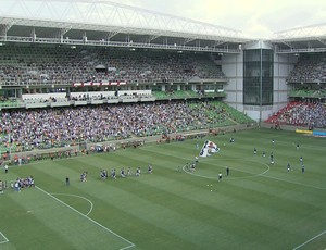 Atlético-MG x Cruzeiro, no Indpendência - Semifinal do Mineiro (Foto: Reprodução/ TV Globo Minas)