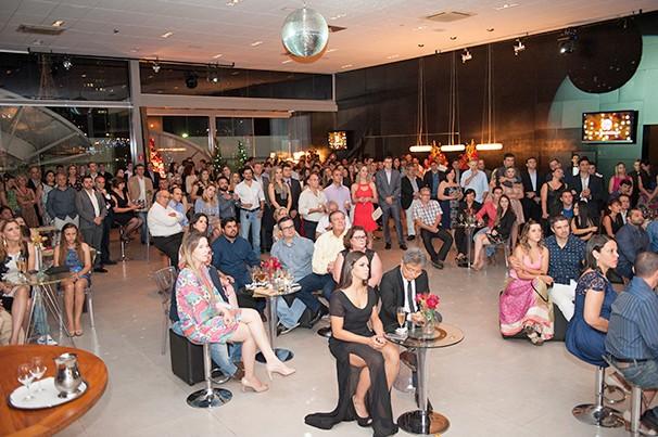 Cerca de 250 convidados estiveram na festa da TV Fronteira (Foto: Rodrigo Oliveto)