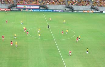 Em goleada da seleção sub-23, Edinho elogia tranquilidade e movimentação