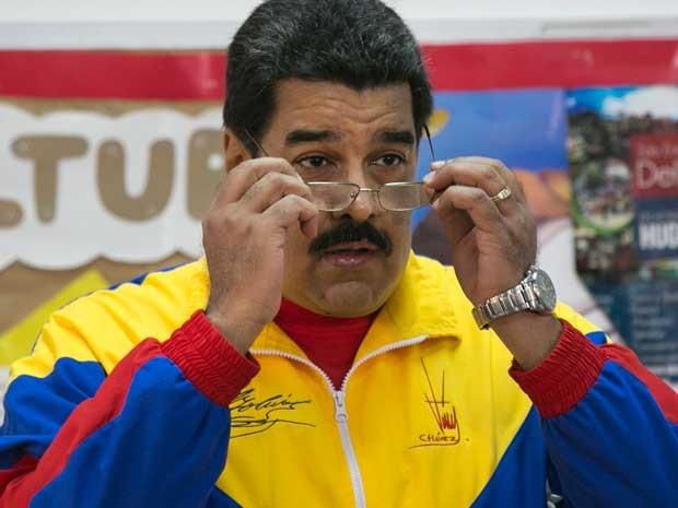 O presidente da Venezuela, Nicolás Maduro, em imagem de junho de 2015 (Foto: Ariana Cubillos / Arquivo / AP Photo)