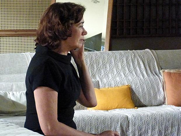 Marta presta solidariedade à rival (Foto: Gshow)
