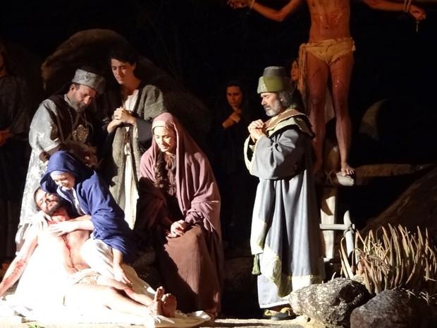 Paixão de Cristo de Nova Jerusalém (Foto: Luna Markman/G1 PE)