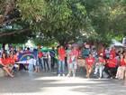 'Não vai ter golpe', gritam integrantes  de manifestação em Petrolina, PE