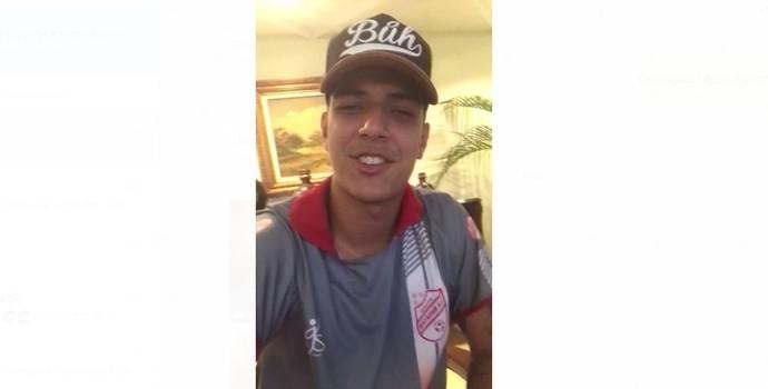 Gabriel, Goleiro do Batatais  (Foto: Reprodução/WhatsApp)