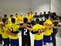 Brasil e Uruguai disputam, domingo, Desafio Internacional de Futsal em BH