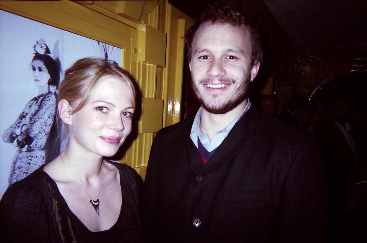 Michelle Williams e Heath Ledger. (Foto: Divulgação)