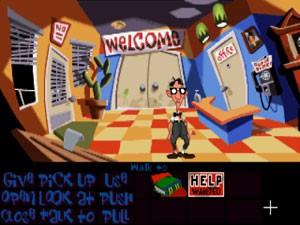 'Day of the Tentacle', game de adventure clássico da década de 1990, é gênero do game que a empresa de Schafer quer desenvolver com as doações (Foto: Divulgação)