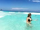 Raíssa Naves posa em Cancún: 'Certeza de que estou no paraíso'