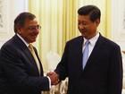 Vice-presidente chinês reaparece e recebe secretário americano