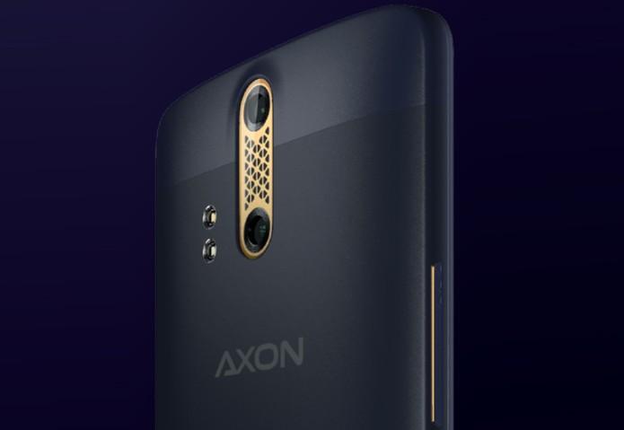 ZTE Axon tem tecnologia avançada de câmeras (Foto: Divulgação/ZTE)