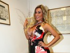 Andressa Urach sobre campeã do Miss Bumbum: 'Não tem carisma'