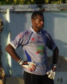 Neto, ex-goleiro do Comercial-PI (Foto: Gil Galvão)