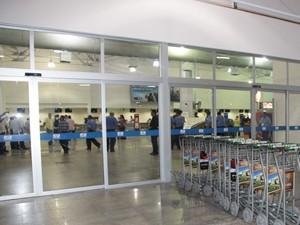 Sala de embarque do aeroporto após reforma (Foto: De Jesus/O Estado)