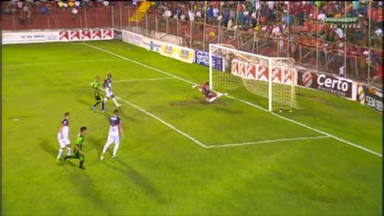 América-MG vence o América TO por 2 a 0 e retorna ao G-4 do Mineiro