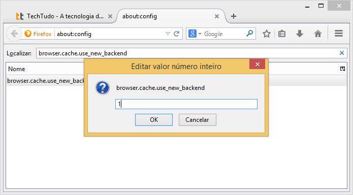 Ativando o cache HTTP (Foto: Reprodução/Helito Bijora)
