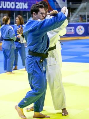 tiago camilo treino mundial de judo da russia (Foto: Rafal Burza/CBJ)