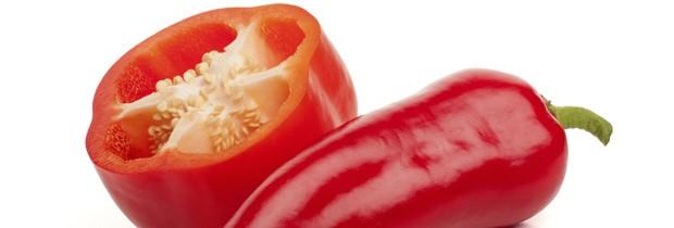 Pimentões vermelhos ajudam a prevenir o surgimento de rugas (Foto: Think Stock)