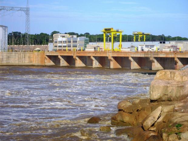 Usina Hidrelétrica Santo Antônio está gerando energia desde março deste ano (Foto: Divulgação/Santo Antônio Energia)