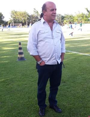Valdir Barbosa, gerente de futebol do Cruzeiro (Foto: Gabriel Duarte)