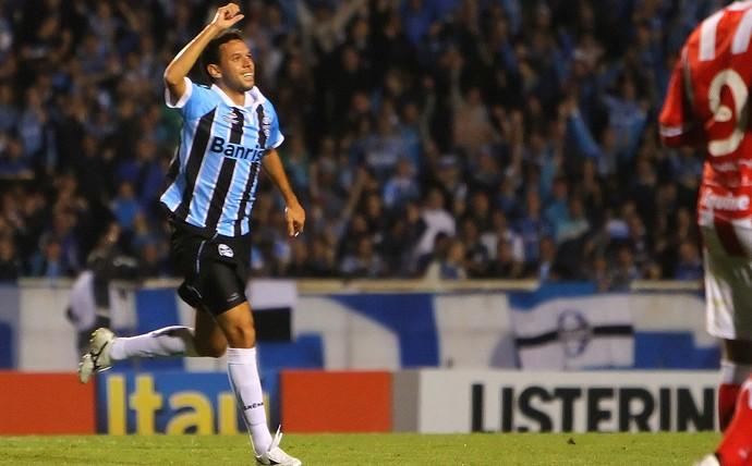 Marco Antonio, Grêmio x Náutico (Foto: Lucas Uebel / Site oficial do Grêmio)