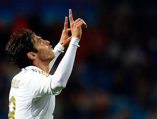 Comemoração kaka - Real Madrid X Apoel (Foto: Ag.Reuters)