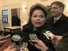 Dilma deixa a Alemanha após discutir crise financeira com Merkel