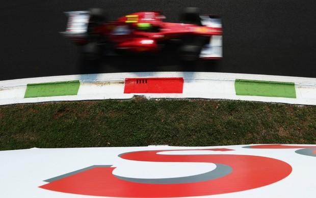 Felipe Massa fez o quarto tempo no segundo treino livre desta sexta em Monza  (Foto: Getty Images)