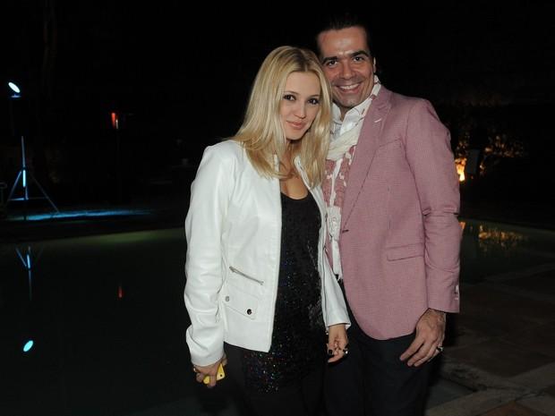 Fabio Arruda e Patrícia de Sabrit (Foto: Francisco Cepeda / AgNews)