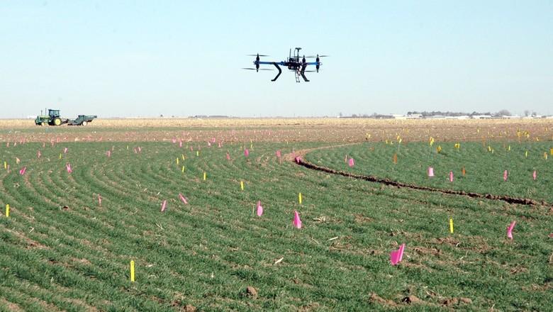 drones-agricultura-pecuaria-tecnologia-vants (Foto: Divulgação/CNAGRO)