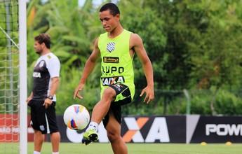 Jovens Dudu e Matheuzinho ganham elogios do técnico Marquinhos Santos