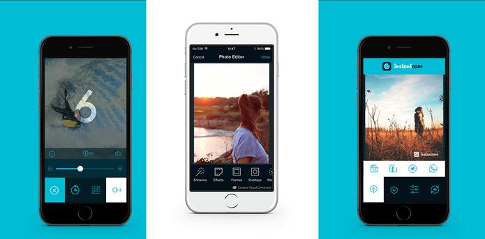 Capture fotos apenas usando sons com o InstantCam (Foto: Divulgação/AppStore)