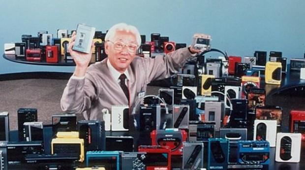 Akio Morita: graças a este senhor, você pode sair de casa e escutar um som  (Foto: Reprodução )