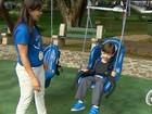 Parque inclusivo é opção para crianças deficientes em São José, SP