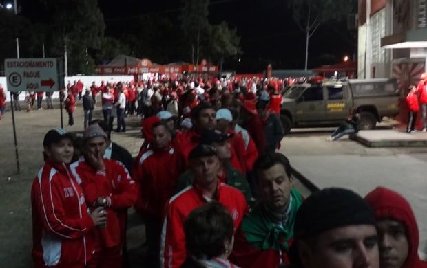 Torcida Inter Beira-Rio (Foto: Tomás Hammes / GLOBOESPORTE.COM)
