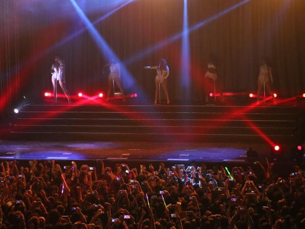 Fifth Harmony se apresenta em Porto Alegre (Foto: Hygino Vasconcellos/G1)