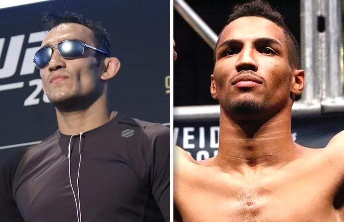Tony Ferguson; Kevin Lee; UFC (Foto: Montagem: Infoesporte)